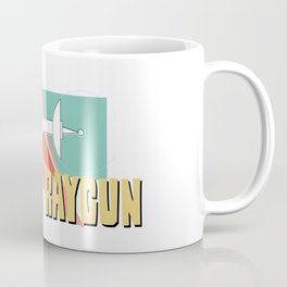 Pink Raygun Coffee Mug