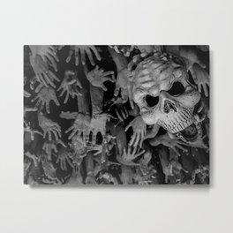 The White Temple - Thailand - 008 Metal Print