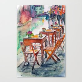 Street Canvas Print