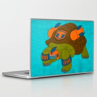 tortoise Laptop & iPad Skins featuring Tortoise by subpatch