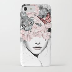 WOMAN WITH FLOWERS 10 iPhone 7 Slim Case