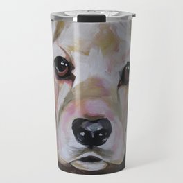 Cocker Spaniel Dog Pet Portrait Travel Mug