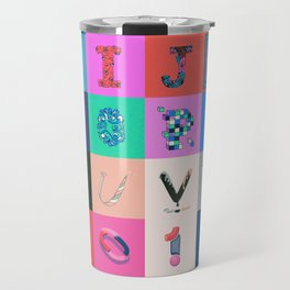 36 Days of Type Travel Mug