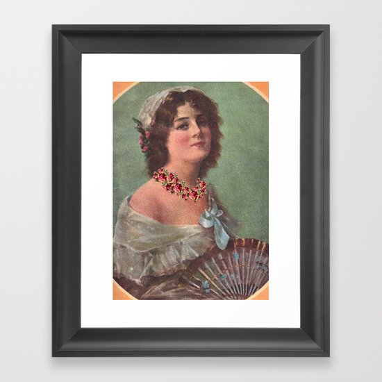 Josephine's Diamonds Framed Art Print