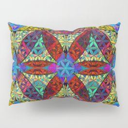 The Flower of Life (Sacred Geometry) Pillow Sham