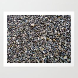 What Stories You Could Tell... Rocks of Jasper Beach Art Print
