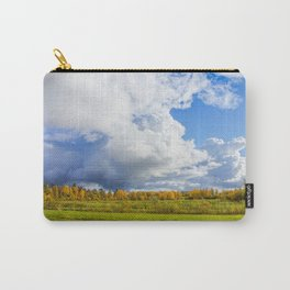 Rainclouds Over Field Carry-All Pouch