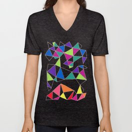 Colorwheel - Connected Series - #0416 Unisex V-Neck