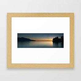 Chillon Panorama Framed Art Print