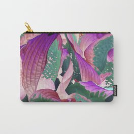 519 - Abstract Garden Design Carry-All Pouch