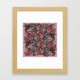 Human mix Framed Art Print