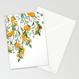 A Bit of Spring and Sushine Trailing Oranges Stationery Cards