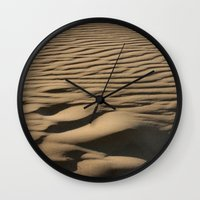 dune Wall Clocks featuring DUNE by Avigur