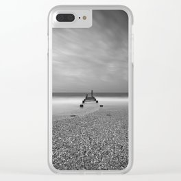 Shell Pile Clear iPhone Case
