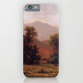 White Mountain Landscape Mount Washington 1871 By Martin Johnson Heade | Reproduction iPhone Case