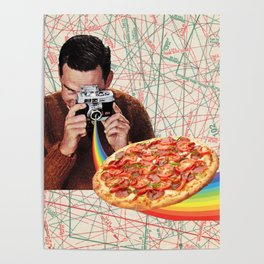 pizza obsession Poster