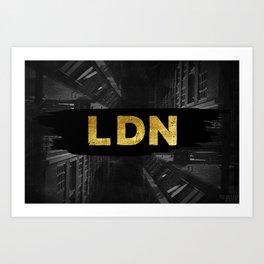 LDN Art Print