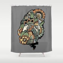 """Serie """"Puntos finales"""" 1 Shower Curtain"""