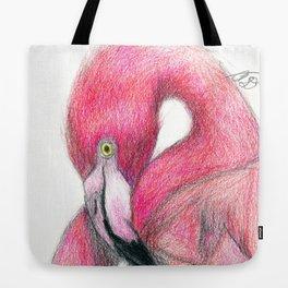 Flamboyant Flamingo Tote Bag