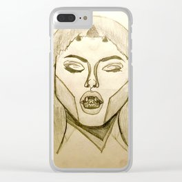 Serpent Tongue Clear iPhone Case