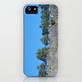 lyons & deer iPhone Case