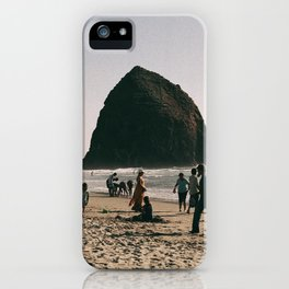 Day at Cannon Beach, OR iPhone Case