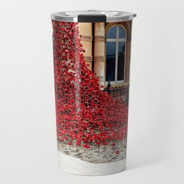 Poppies - City of Culture 2017, Hull Travel Mug