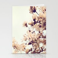 magnolia Stationery Cards featuring Magnolia by Dena Brender Photography