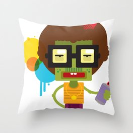 ZAPPO Throw Pillow