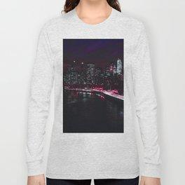 Red New York City Long Sleeve T-shirt