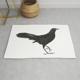 Great-tailed grackle Rug