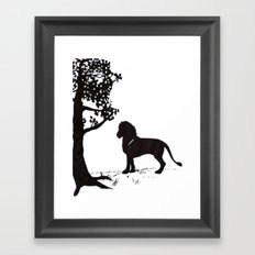 genus Panthera Framed Art Print