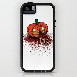 Bloody Pumpkin iPhone Case
