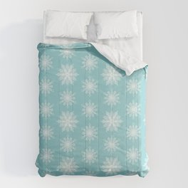 Frosty Snowflakes Comforters