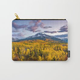 Chasing The Gold Carry-All Pouch
