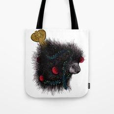 Christmas Porcupine Tree Tote Bag