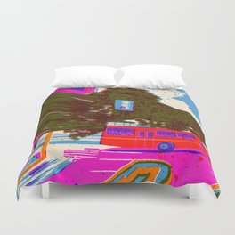 bring your love back in 7 days - Fortuna Series Duvet Cover