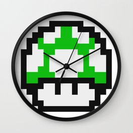 1UP - Get a Life Wall Clock
