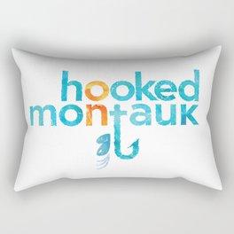 Hooked on Montauk Rectangular Pillow