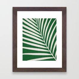 Minimalist Palm Leaf Framed Art Print