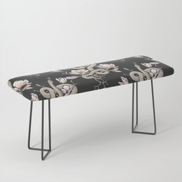 Magnolia and Serpent Bench