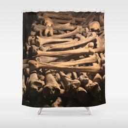 The Bones Shower Curtain