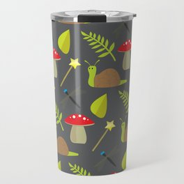 Fairy Garden Pattern 2 Travel Mug