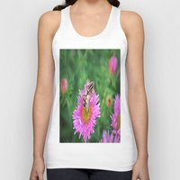 bee Tank Tops featuring bee by  Agostino Lo Coco