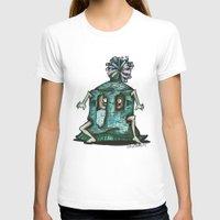 boho T-shirts featuring BOHO HOBO by Pumpkin Snipes