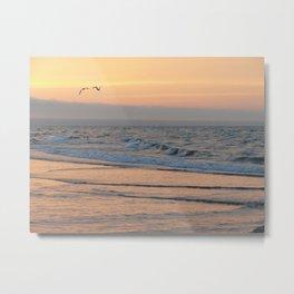 Sunset in Bay de Chaleur Metal Print