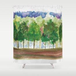 Quiet Glade Shower Curtain
