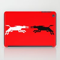 war iPad Cases featuring War by KaliVasquez