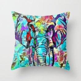Elefante Throw Pillow