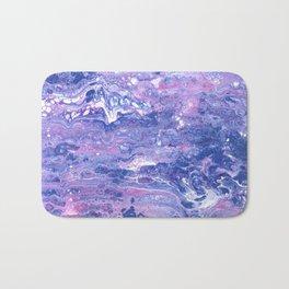 Purple Planet Bath Mat